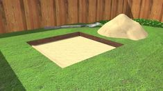 """How to Build a Sandbox. Nothing says """"childhood"""" like summertime and sandboxes. Not only is the sandbox a great place for your kids to learn the fine art of sandcastle building, truck driving, and sharing, it's also a gathering center for. Backyard Playground, Backyard For Kids, Backyard Games, Backyard Landscaping, Diy For Kids, Outdoor Games, Backyard Ideas, Garden Ideas, Water Games For Kids"""
