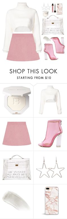"""""""Untitled #789"""" by amelle ❤ liked on Polyvore featuring Alexandre Vauthier, WithChic, Hermès and BBrowBar"""