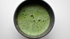 Matcha green tea's vibrant green powder tastes a lot like green tea, but it offers more potent and meaningful health benefits.