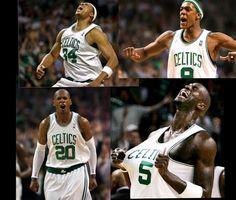 @Boston Celtics The Big 3 + Rondo! Thank you for a great season - you make Celtics Nation so proud! #iamaceltic