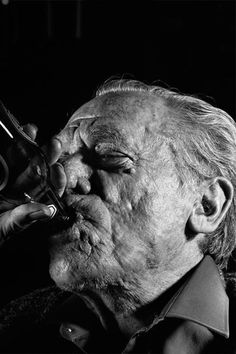 Charles Bukowski, 1991.  Gottfried Helnwein