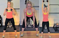All it takes is 300 seconds!  5 minute full body workout from Self Magazine