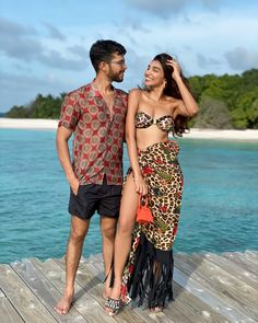 #couplestyle #resortwear #swimwear #maldives #style #animalprint #juhigodambe