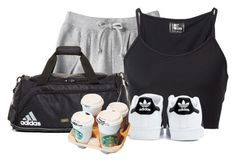 """""""adidas"""" by adele-adik ❤ liked on Polyvore featuring adidas and Lost & Found"""