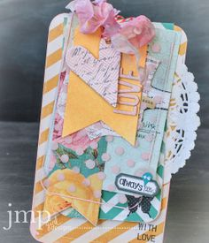 jamie pate ~ pretty large tag card