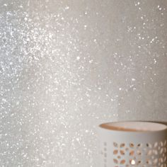 Glitter Wallpaper via www.glitterbugwallpaper.co.uk