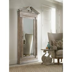 Found it at Wayfair - Hooker Furniture Rhapsody Floor Jewelry Armoire with Mirrorhttp://www.wayfair.com/Hooker-Furniture-Rhapsody-Floor-Jewelry-Armoire-with-Mirror-5073-50001-HKR5768.html?refid=SBP