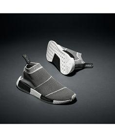 adidas Originals(アディダス オリジナルス)のオリジナルス エヌ エム ディー シティソック [NMD CT SOCK PK](スニーカー) ブラック×ホワイト