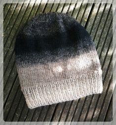 GGE-Mütze – Strick – Ideen Knit Hat Pattern Easy, Easy Knit Hat, Loom Knit Hat, Knit Hat For Men, Knitted Hats Kids, Knitting For Kids, Loom Knitting, Knitting Ideas, Crochet Pattern
