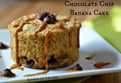 Chocolate chip banana cake. from the same girl who did the spaghetti squash pudding