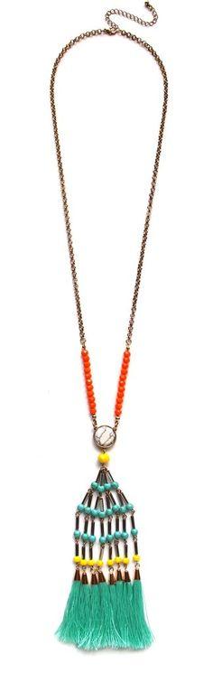 Cool Fringe Islander Necklace