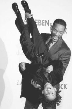 Will Smith con su hijo