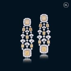 Diamond Jewellery, Diamond Earrings, Hazoorilal Jewellers, Jewellery Designs, India, Jewels, Diamond Jewelry, Rajasthan India, Gemstones
