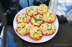 Bruschetta, Baked Potato, Grilling, Recipies, Good Food, Snacks, Baking, Eat, Breakfast
