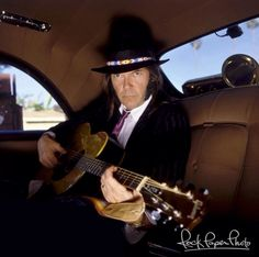 Neil Young....rock paper photo