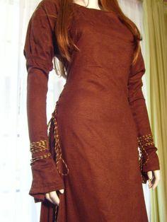 Moleskin Medieval Gown