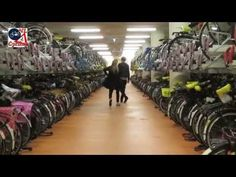 Bicycle Parking Facility at Rotterdam Central Station - YouTube