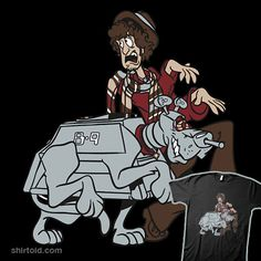 The Doctor and K-9=Shaggy and Scooby