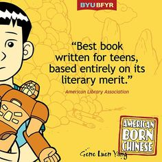 """Gene Luen Yang won the annual Michael L. Printz Award from the American Library Association for his fantastic graphic novel, """"American Born Chinese.""""   Gene, a presenter at this year's symposium, is the author of dozens of graphic novels. He is even the mastermind behind the comic continuation of the Nickelodeon series, """"Avatar: The Last Airbender!"""" Register to hear Gene at bfyr.byu.edu."""
