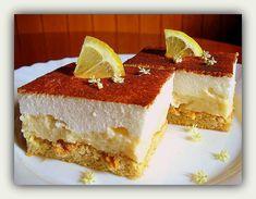 Habos almás krémes | PaleoVital Paleo Sweets, Paleo Dessert, Vanilla Cake, Tiramisu, Cheesecake, Deserts, Rolls, Ethnic Recipes, Fitt