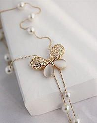 Cheap necklace with perfume bottle, Buy Quality necklace statement directly from China necklace piece Suppliers: Hollow crystal opal butterfly long necklace Cute Jewelry, Bridal Jewelry, Jewelry Gifts, Gold Jewelry, Jewelry Accessories, Women Jewelry, Fashion Jewelry, Bottle Necklace, Gold Necklace