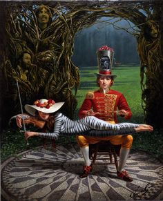 Imagine by Michael Cheval. For more info, call us at 301.881.5977. Email us at info@huckleberryfineart.com, visit our website, like us on Facebook, or follow us on Twitter/Tumblr!