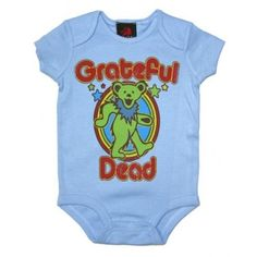 28b22fc9e Grateful Dead Bear Baby Onepiece Grateful Dead Bears, Punk Baby, Vegan Baby,  Little