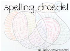 Lessen van Lisa - Spelling Spelling Practice, Study Tips, Kids Learning, Kids Playing, Vocabulary, Homeschool, Lisa, Language, Van