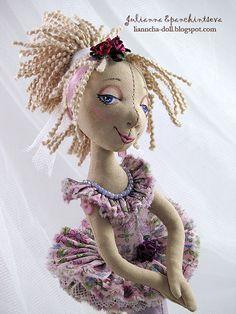 Про кукол и не только... : Маленькая балеринка