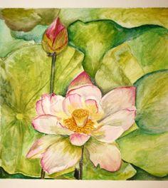 Watercolor by Jacqueline Zuckerman