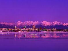 Анкоридж, Аляска.