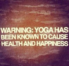 Yoga can improve your mental health...  This article is about yoga for depression.