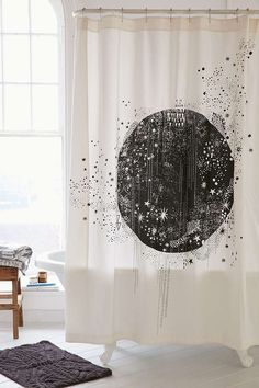 Shop Magical Thinking La Luna Shower Curtain At Urban Outfitters Today