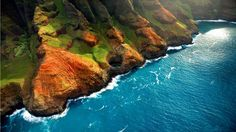 Kauai Coastline, Hawaii