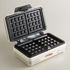One of my favorite discoveries at WorldMarket.com: Retro Waffle Maker