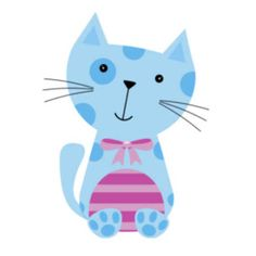Be Diff - Estampas infantis | gato by Doce Bombom