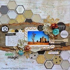 All About Scrapbooks - Kaisercraft, Hello Today by Linda Eggleton