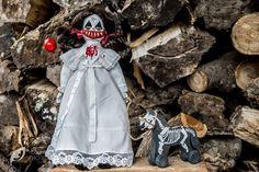 clown creepy doll
