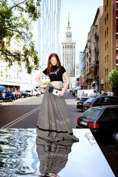 Malgosia Piernik for Harper's Bazaar Poland 2013 - Fashion   Popbee