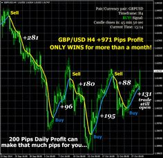 200 pip Daily Profit Gbp Usd, Thing 1