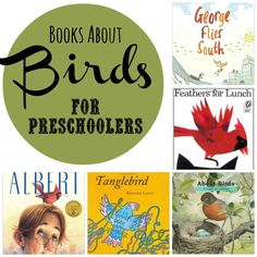 Books about Birds for Preschoolers. Never knew there were such such fun ones!