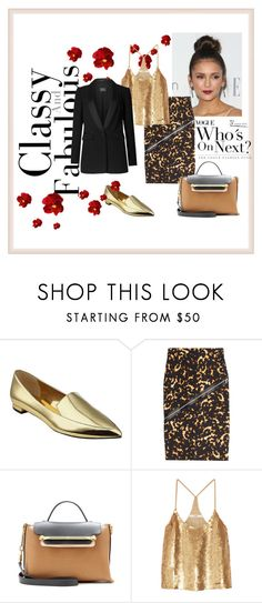 """Classy"" by merssy ❤ liked on Polyvore featuring Nine West, McQ by Alexander McQueen, Chloé and TIBI"