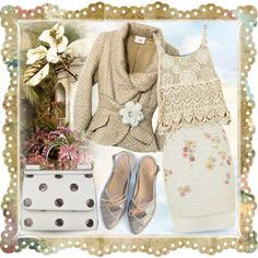 a charming turn by collagette on Polyvore featuring мода, Dolce&Gabbana and Spring