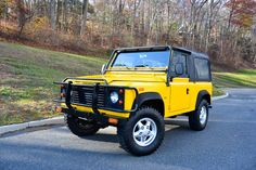 1994 Land Rover Defender 90 AA Yellow | Hunting Ridge Motors