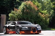 Carbon Orange Starring: Bugatti Veyron Super Sports by Alex #design