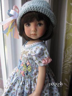 """La Libellule Smocked Dianna Effner Little Darlings 13"""" Studio Dolls by pixxells"""