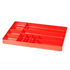 Ernst Manufacturing Screwdriver Organizer Tray 12 Tool Black
