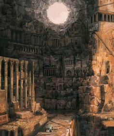 Ancient Civilizations Challenge (1/4), Tristan Kang on ArtStation at https://www.artstation.com/artwork/mPmK9