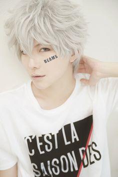 Gintoki, Gintama | kuryu - WorldCosplay He also looks like Yoongi (Suga) from BTS! :3