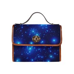 Starry skies Waterproof Canvas Bag/All Over Print (Model Great Gifts For Mom, Jewel Box, Bag Making, Shoulder Bags, Jewels, Elegant, Canvas, Model, Classy